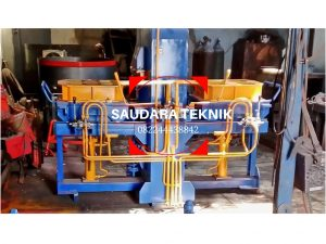 mesin cetak batako paving 2 sisi