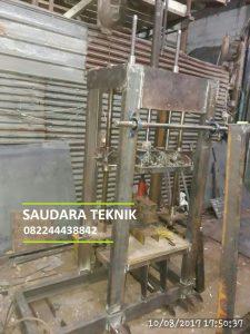 PROSES Pembuatan Mesin Batako Paving
