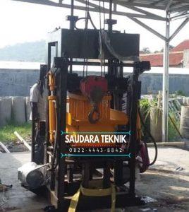 Mesin Batako Paving semi Otomatis