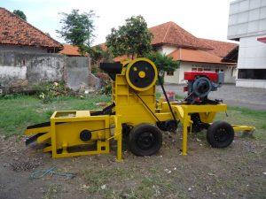 Mesin penghancur batu